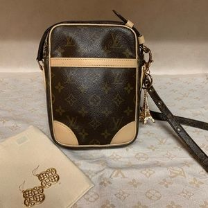 SOLD in Mercari Louis Vuitton Danube Crossbody Bag